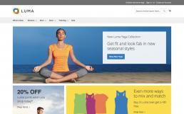 Luma Theme Homepage